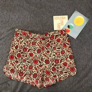 Forever 21 Gently Worn Patterned Flowy Shorts